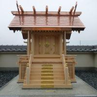 愛知県春日井市の本殿新築工事