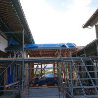 三重県長島町願證寺様法務玄関新築工事