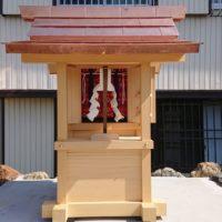 神社 本殿新築工事