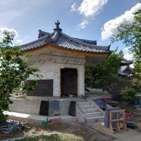 愛知県 法光寺様六角堂新築工事