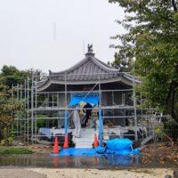 愛知県一宮市法光寺様六角堂新築工事